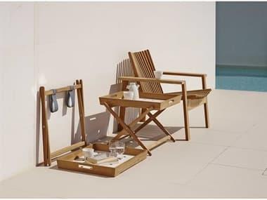 Cane Line Outdoor Amaze Teak Lounge Set CNOAMZELNGSET1