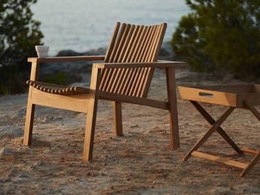 Cane Line Outdoor Amaze Teak Lounge Set CNOAMZELNGSET2