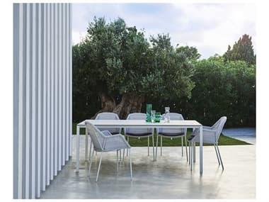 Cane Line Outdoor Breeze Aluminum Wicker Dining Set CNOBRZEDINSET11