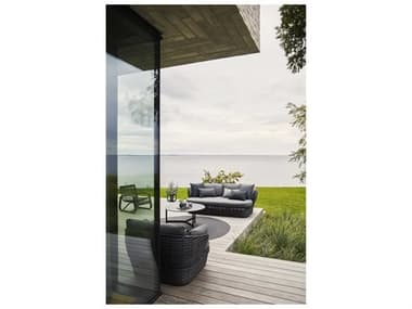 Cane Line Outdoor Basket Wicker Lounge Set CNOBSKETLNGSET