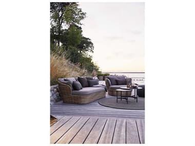 Cane Line Outdoor Basket Wicker Lounge Set CNOBSKETLNGSET2