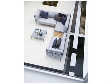 Cane Line Outdoor Conic Aluminum Cushion Sectional Lounge Set CNOCNICSECLNGSET
