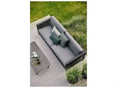 Cane Line Outdoor Connect Wicker Lounge Set CNOCNNCTLNGSET1