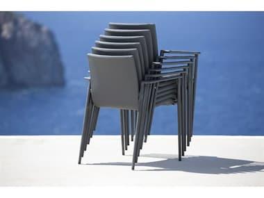 Cane Line Outdoor Core Aluminum Stackable Dining Chair Set CNOCOREDINCHRSET