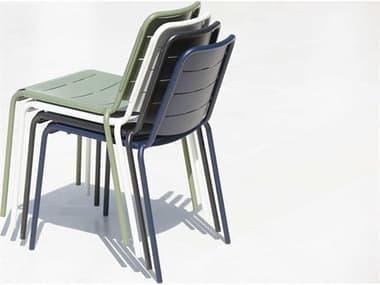 Cane Line Outdoor Copenhagen Aluminum Stackable Dining Side Chair Set CNOCPNHGENDINCHRSET2