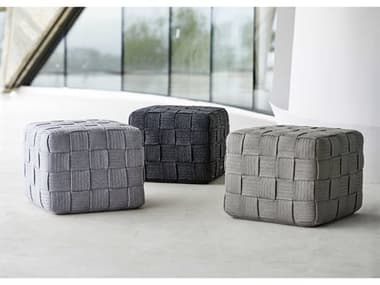 Cane Line Outdoor Cube Soft Rope Footstool Set CNOCUBELNGSET