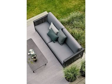 Cane Line Outdoor Dot Soft Rope Wicker Lounge Set CNODOTLNGSET1
