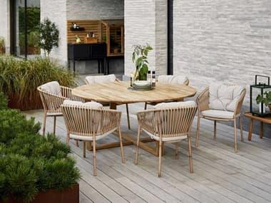 Cane Line Outdoor Endless Teak Dining Set CNOENDLSSDINSET2