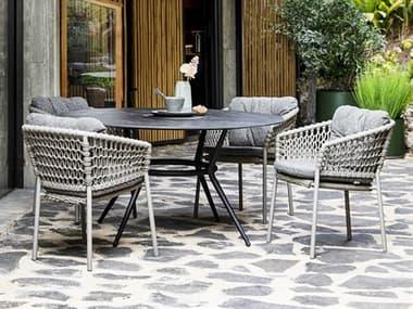 Cane Line Outdoor Joy Aluminum Dining Set CNOJOYDINSET1