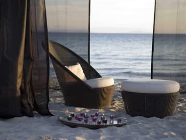 Cane Line Outdoor Kingston Wicker Lounge Set CNOKNGSTNLNGSET