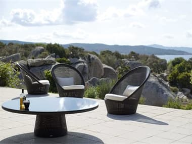 Cane Line Outdoor Kingston Wicker Lounge Set CNOKNGSTNLNGSET1