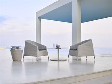 Cane Line Outdoor Kingston Wicker Lounge Set CNOKNGSTNLNGSET4