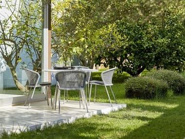 Cane Line Outdoor Lean Aluminum  Wicker Dining Set CNOLEANDINSET10