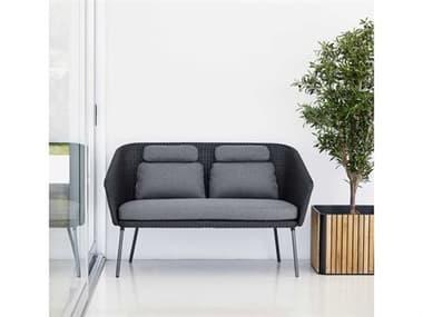 Cane Line Outdoor Mega Aluminum Wicker Lounge Set CNOMEGALNGSET