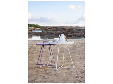 Cane Line Outdoor On-the-Move Aluminum End Table Set CNOONTMVETBLESET11