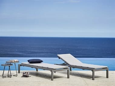 Cane Line Outdoor Relax Aluminum Lounge Set CNORELAXLNGSET