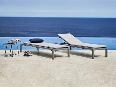 Cane Line Outdoor Relax Aluminum Lounge Set CNORELAXLNGSET1
