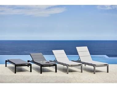Cane Line Outdoor Relax Aluminum Lounge Set CNORELAXLNGSET2