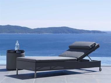 Cane Line Outdoor Rest Aluminum Lounge Set CNORESTLNGSET