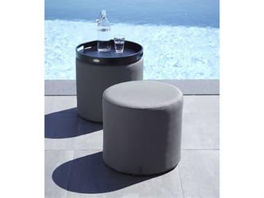 Cane Line Outdoor Relax Aluminum Ottoman Set CNORESTOTTMNSET