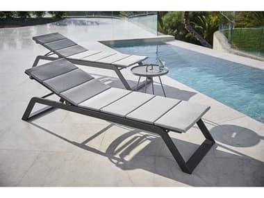 Cane Line Outdoor Siesta Aluminum Lounge Set CNOSIESTALNGSET
