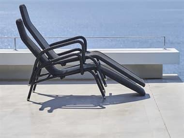 Cane Line Outdoor Sunrise Aluminum Stackable Chaise Lounge Set CNOSNRSECHSLNGSET