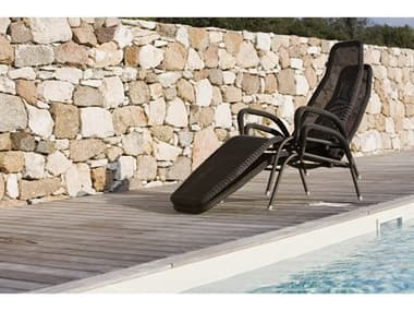 Cane Line Outdoor Sunrise Aluminum Stackable Chaise Lounge Set CNOSNRSECHSLNGSET1