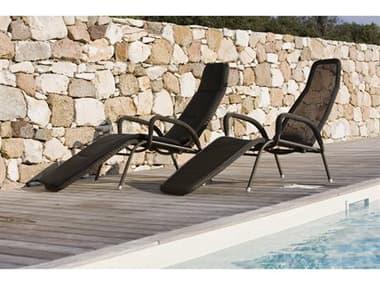 Cane Line Outdoor Sunrise Aluminum Stackable Chaise Lounge Set CNOSNRSECHSLNGSET2