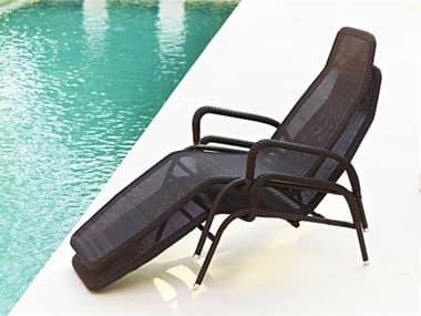 Cane Line Outdoor Sunrise Aluminum Stackable Chaise Lounge Set CNOSNRSECHSLNGSET3