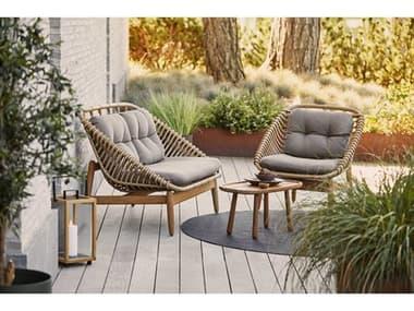 Cane Line Outdoor String Aluminum Lounge Set CNOSTRNGLNGSET