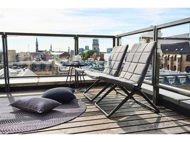Cane Line Outdoor Traveller Aluminum Lounge Set CNOTRVLLRLNGSET1