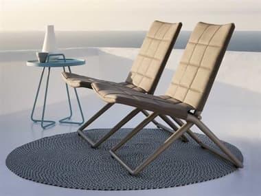 Cane Line Outdoor Traveller Aluminum Lounge Set CNOTRVLLRLNGSET2