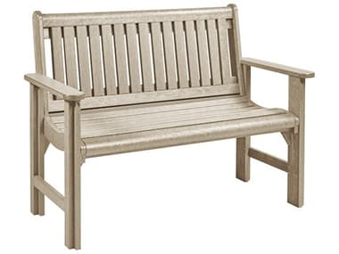 C.R. Plastic Generation Recycled Plastic Garden Bench CRB01