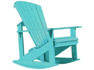 C.R. Plastic Generation Recycled Plastic Adirondack Rocking Chair CRC04