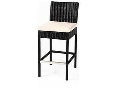 Caluco Dijon Wicker Majestic Black Bar Chair CU8257