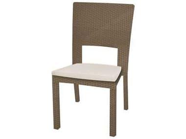 Caluco 10 Tierra Wicker Mocaccino Dining Side Chair CU8291ST