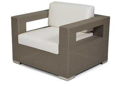 Caluco 10 Tierra Wicker Mocaccino Lounge Chair CU82921