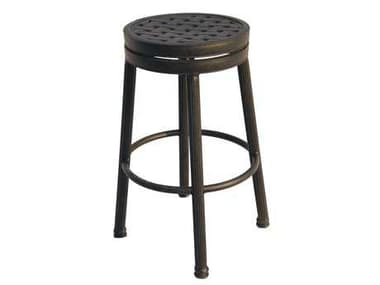 Darlee Outdoor Living Backless Replacement Round Bar Stool Seat Cushion DA1210101