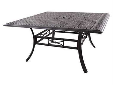 Darlee Outdoor Living Series 88 Cast Aluminum Antique Bronze 60 Square Counter Height Dining Table DA201088WCH