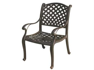 Darlee Outdoor Living Nassau Replacement Dining Chair Seat Cushion DADL13101