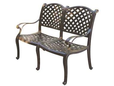 Darlee Outdoor Living Nassau Replacement Bench Seat Cushion DADL13102