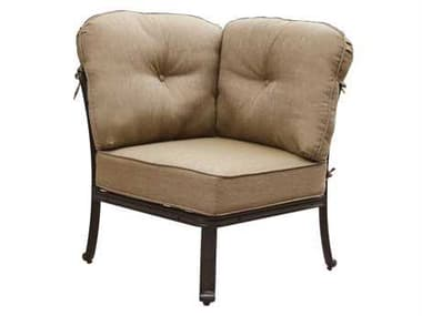 Darlee Outdoor Living Elisabeth Replacement Sectional Corner Chair Seat and Back Cushion DADL705105