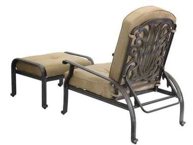 Darlee Outdoor Living Quick Ship Elisabeth Replacement Cushions For Adjustable Club Chair & Ottoman DADL709101