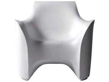 Driade Tokyo-Pop Polyenthylene Monobloc Armchair in White DRI9852834