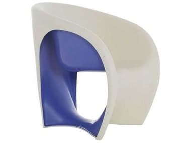Driade Mt1 Polyenthylene Monobloc Armchair in Sand White and Violet DRI9854370