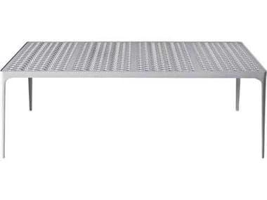 Driade Sunrise Aluminum 78.7''W x 31.5''D Rectangular Dining Table DRI9855074