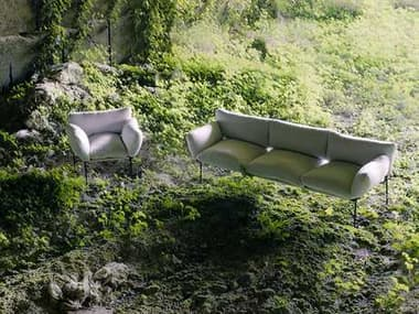 Driade Elisa Steel Lounge Set DRIELSABYENZOMARILNGSET