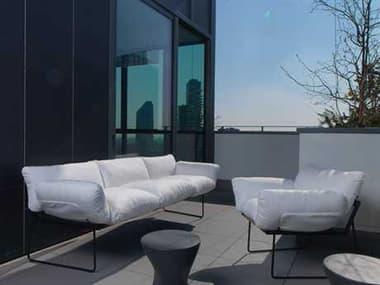 Driade Elisa Steel Lounge Set DRIELSABYENZOMARILNGSET1
