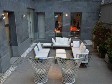 Driade Herve Steel Lounge Set DRIHRVBYLIEVRLTHRLNGSET1