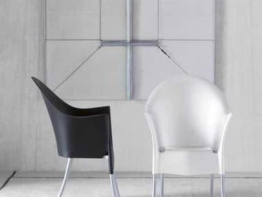 Driade Lord Yo Resin Polypropylene Dining Chair Set DRILORDBYPHLPSTRCKDINSET1